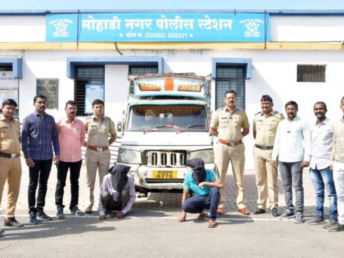 Accompanied by a vehicle thief and his accomplice | वाहन चोरणाऱ्या चोरट्यासह साथीदारही जाळ्यात