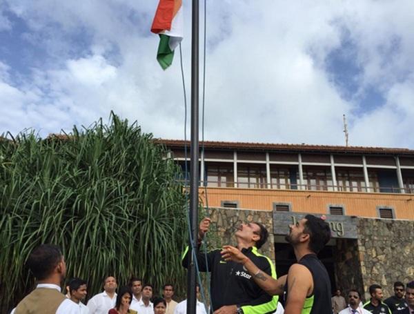 Indian team wishes Independence Day to the countrymen, watch the video | भारतीय संघाने दिल्या देशवासियांना स्वातंत्र्य दिनाच्या शुभेच्छा, पाहा व्हिडीओ