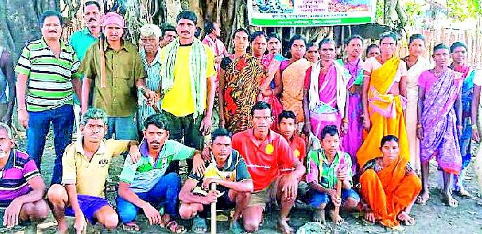 The villagers came to the rescue of the forest | जंगल बचावासाठी ग्रामस्थ सरसावले