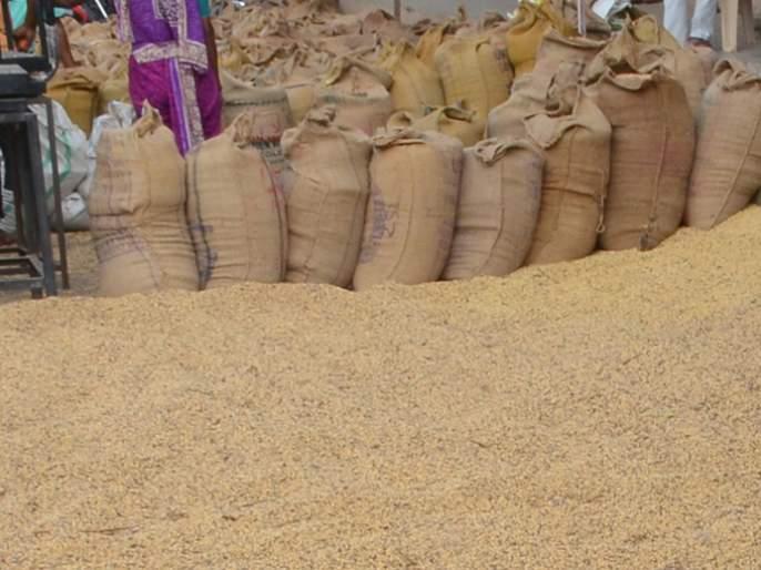 Parbhani: Highest prices for soybeans in Gangakhed Market Committee | परभणी : गंगाखेड बाजार समितीत सोयाबीनला सर्वोच्च भाव