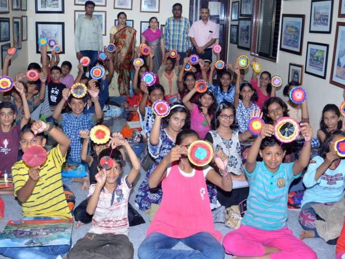 Environmental Supplementary Rakhi Workshop at Chalisgaon | चाळीसगाव येथे पर्यावरण पूरक राखी बनविण्याची कार्यशाळा