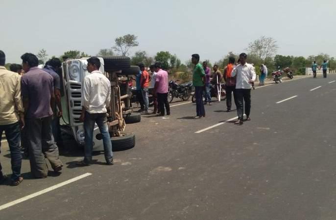 Fatal accidents in Chandrapur district; Two killed on the spot, two serious | चंद्रपूर जिल्ह्यात भीषण अपघात; दोन जागीच ठार, दोन गंभीर