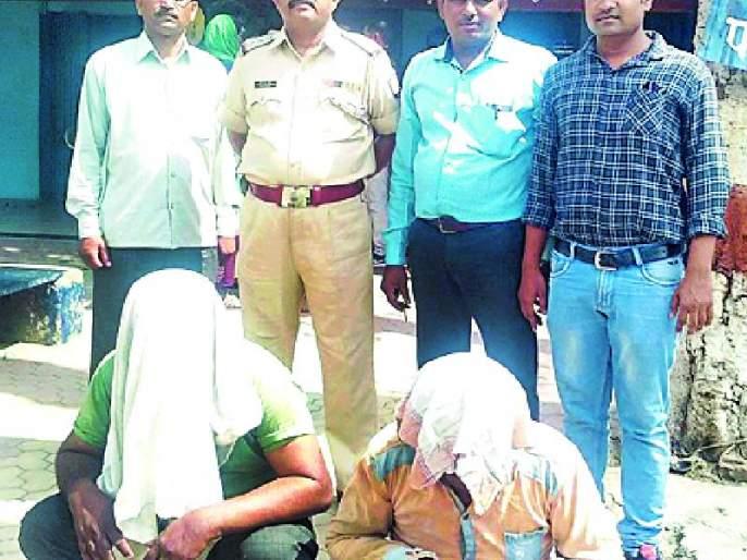 Govanshachi smuggling, and arrested both   गोवंशाची तस्करी, दोघांना अटक