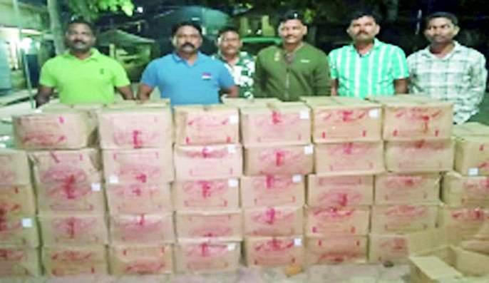Six lakh domestic liquor seized | सहा लाखांची देशी दारू जप्त