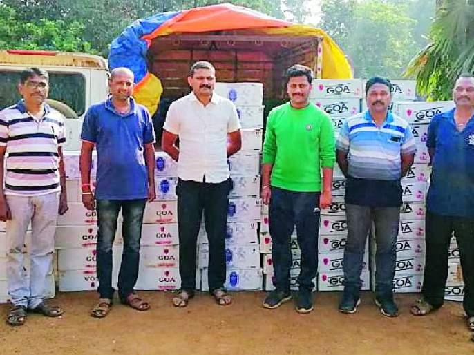 15 lakh alcohol seized in the wake of the election | निवडणुकीच्या पार्श्वभूमीवर १५ लाखांची दारू जप्त