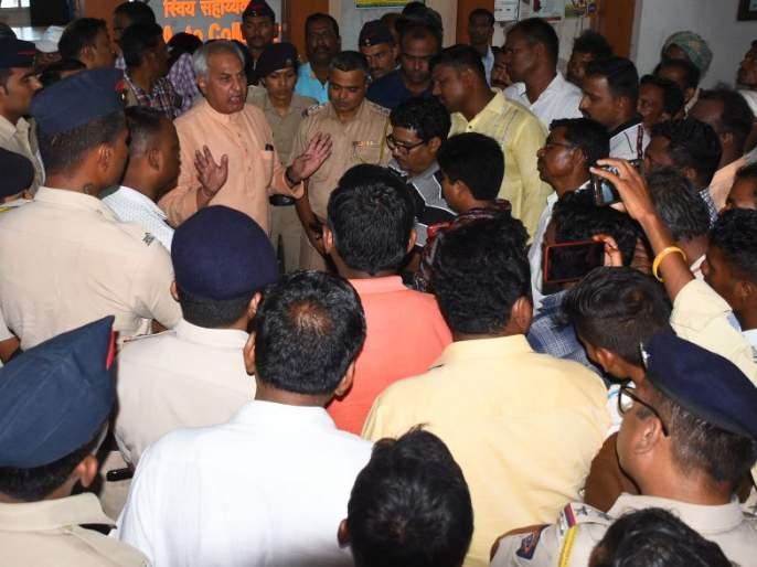 Grounding advisers of Narmada Authority | नर्मदा प्राधिकरणाच्या सल्लागारांना घेराव