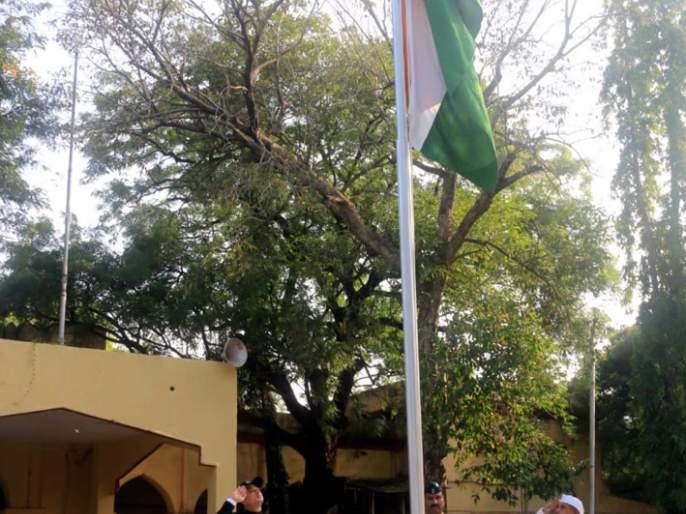 Marathwada MuktiSangram Day Ceremony celebrated in Beed district | बीड जिल्ह्यात मराठवाडा मुक्तिसंग्राम दिन सोहळा उत्साहात साजरा