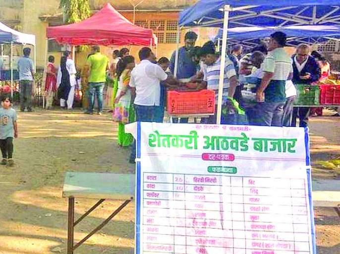 Farmers Week Market not excistance | शेतकरी आठवडी बाजाराचेवांदे