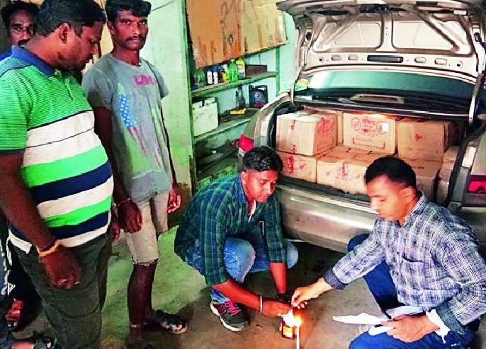 Former city president Deepak Jaiswal arrested for smuggling alcohol | माजी नगराध्यक्ष दीपक जयस्वाल यांना दारू तस्करीत अटक