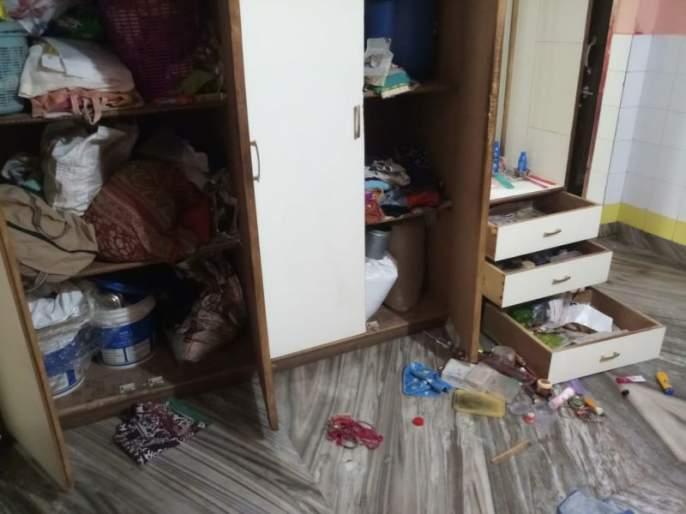 On the second day in Dhupli, stealthily, steal on the second day | धुळ्यातील देवपूर भागात सलग दुसºया दिवशी चोरी
