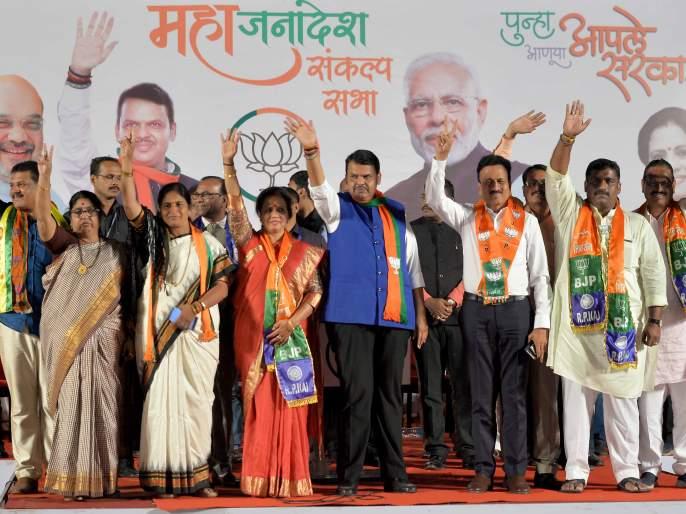 We have not taken so much in favor of Pawar! Devendra Fadnavis | आम्ही घेतले नाहीत, तेवढेच उरले पवार यांच्या पक्षात !देवेंद्र फडणवीस
