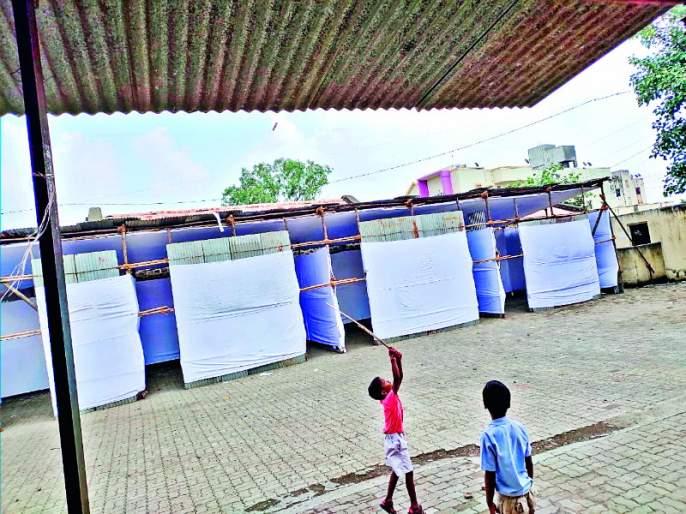 Maharashtra Election 2019 : Expenditure of 2 crores for polling booths in Hadapsar   Maharashtra Election 2019 : हडपसरमध्ये मतदान केंद्रांसाठी २ कोटींचा खर्च