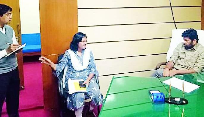 Irrigation department opened for farmers in State | राज्यमंत्र्यांनी केले शेतकऱ्यांकरिता सिंचन विभागातील दालन खुले