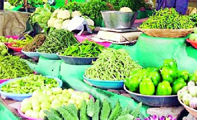 The prices of all the vegetables fell | सर्वच भाजीपाल्यांचे भाव कडाडले