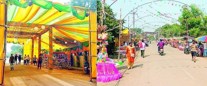 50,000 Devotees will come at Gadchiroli   ५० हजारांवर भाविक गडचिरोलीत येणार