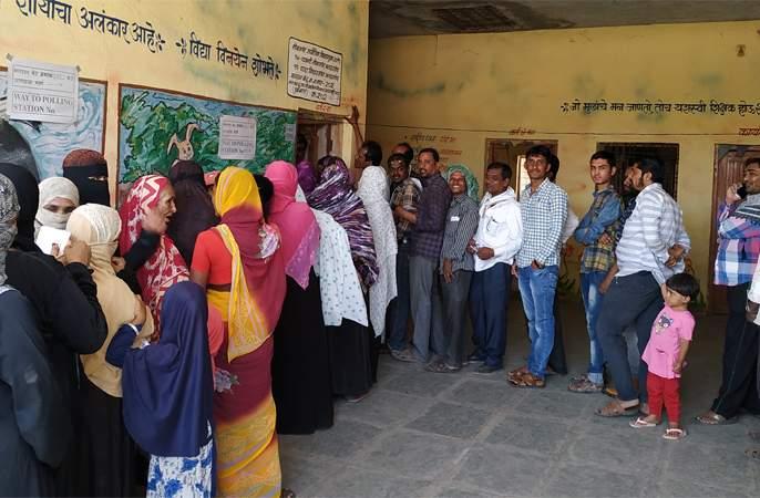 At Partur, polling was 55.20 percent | परतूर येथे ५५.२० टक्के मतदान