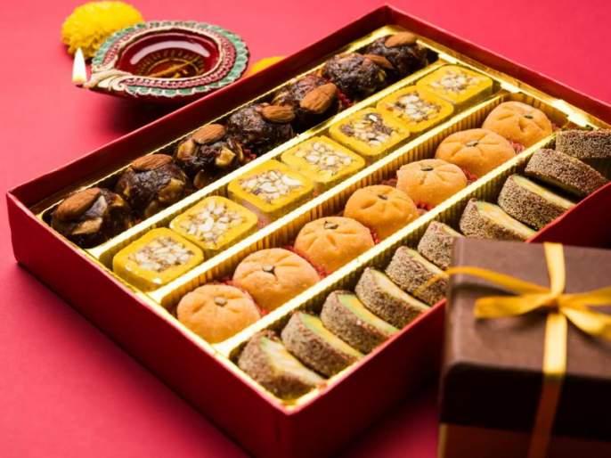 Selling of sweets before 'Best Before' sticker in Amravati | अमरावतीत 'बेस्ट बिफोर'च्या स्टिकरविनाच मिठाईची विक्री