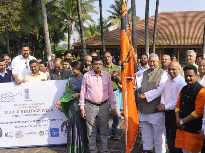 Kolhapurkar's initiative in preserving historical heritage | ऐतिहासिक वारसा जपण्यात कोल्हापूरकरांचा पुढाकार--शाहू छत्रपती