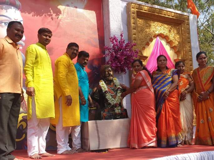 nashik,dumdummali,krantibhoomi,with,shivarai's,cheering | शिवरायांच्या जयजयकाराने दुमदुमली क्रांतीभूमी