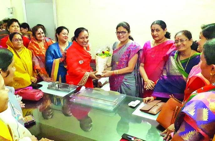 The chairperson accepted the charge of women and child welfare | सभापतींनी स्वीकारला महिला व बालकल्याणचा पदभार