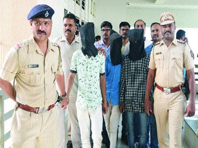 Sonassachers are in possession of thieves   सोनसाखळी चोरटे ताब्यात
