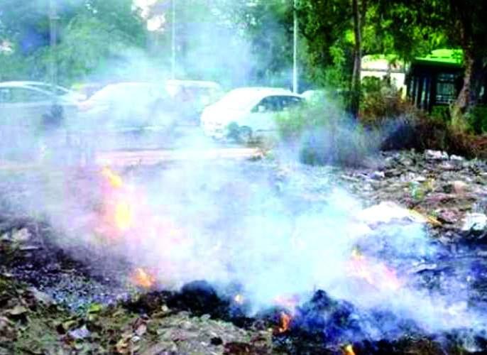 In Nagpur, pollution level is high | नागपुरातील 'प्राण' वायुला धुराचा विळखा