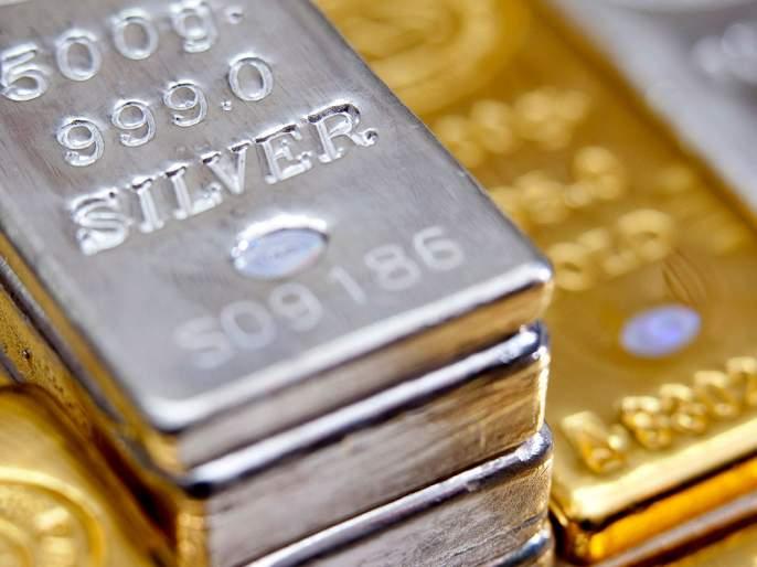 Silver increased by four thousand rupees in a single day | चांदीमध्ये एकाच दिवसात 4 हजार रुपयांनी वाढ, सोन्यालाही आणखी झळाळी
