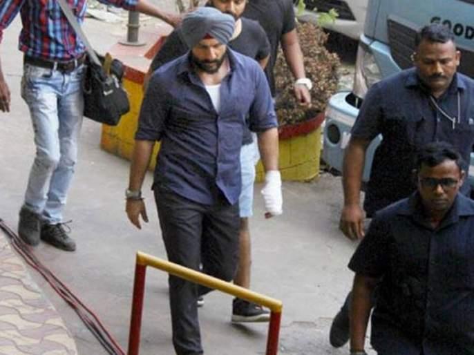 Saif Ali Khan's photo leaked at the set of 'Sacred Games 2' | 'सेक्रेड गेम्स २' च्या सेटवरील सैफ अली खानचा फोटो झाला लीक