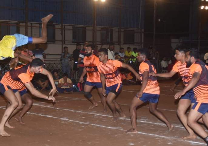 Kabaddi: Jai Bharat Seva Mandal, Shri Sai Sports mandal in the quater final   कबड्डी :जय भारत सेवा मंडळ, श्री साई क्रीडा मंडळउप-उपांत्य फेरीत