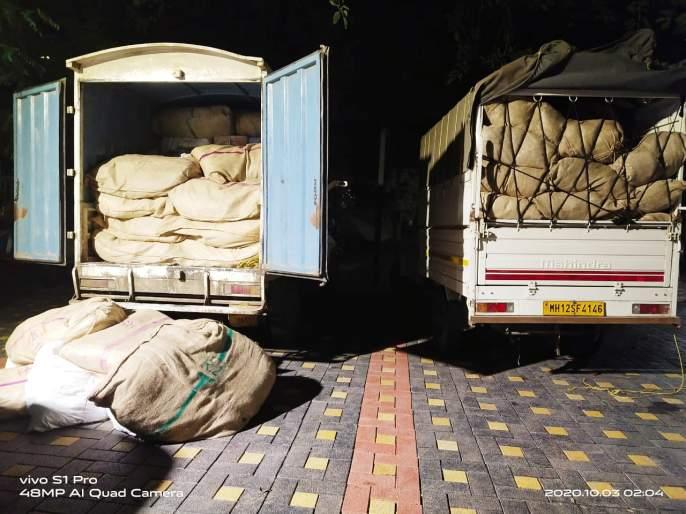 Gutka worth Rs 25 lakh seized in Pandharpur; Filed charges against five people | Breaking; पंढरपुरात २५ लाखांचा गुटखा जप्त; पाच जणांविरुद्ध गुन्हा दाखल