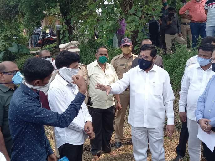 No farmer will be deprived of government help- Guardian Minister Eknath Shinde | एकही शेतकरी शासकीय मदतीपासून वंचित राहणार नाही- पालकमंत्री एकनाथ शिंदे