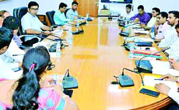Meeting of District Coordination Committee for Seventh Economic Census | सातव्या आर्थिक गणनेकरिता जिल्हा समन्वय समितीची बैठक