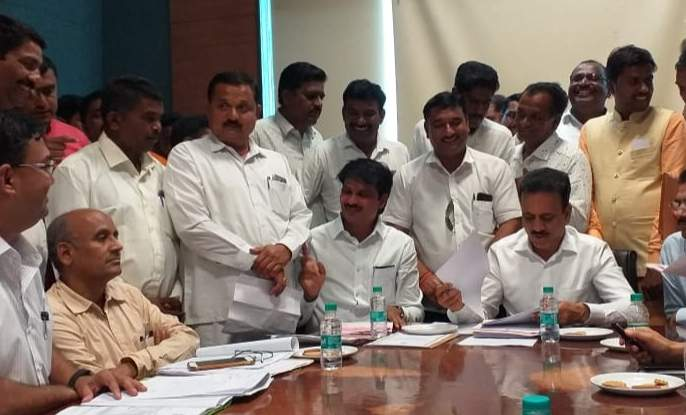 Sanction of water reservation for Lokhandwadi, Jopul | लोखंडेवाडी, जोपुळसाठी पाणी आरक्षणास मंजुरी