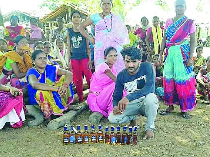 One alcohol shopkeeper arrested | एका दारूविक्रेत्यास अटक