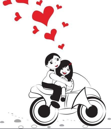She ran away with lover on bike | प्रियकराच्या दुचाकीवर बसून 'ती' सुसाट गेली