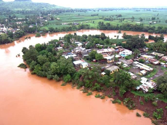 5% of Krishnakath's soil is unsafe to live in | कृष्णाकाठची ८० टक्के मातीची घरे राहण्यास असुरक्षित