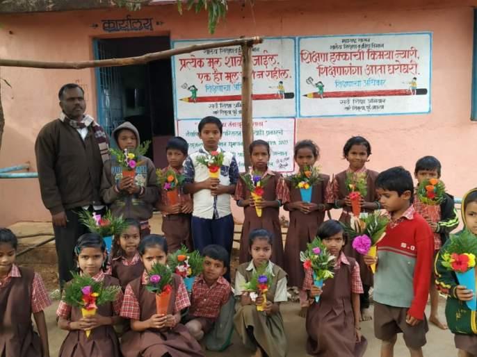 Shirale School's free Saturday activities are becoming inspiring | शिराळे शाळेचा दप्तरमुक्त शनिवार उपक्रम ठरतोय प्रेरणादायी