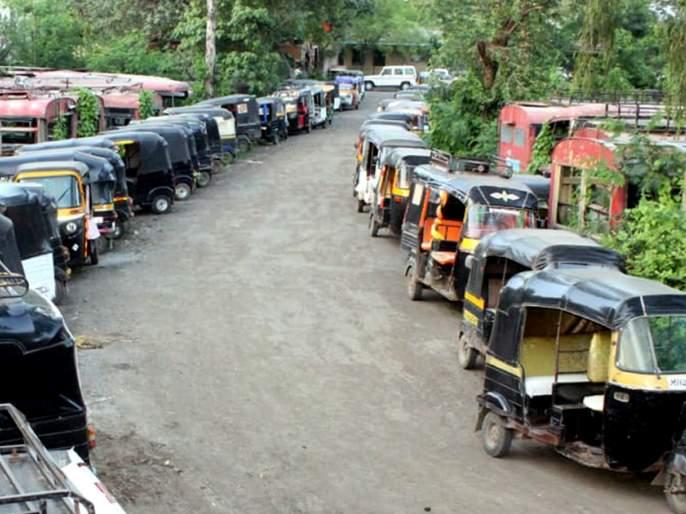 Parbhani: After paying the fine, 3 auto is released | परभणी: दंड भरल्यानंतर ३० आॅटो सोडले