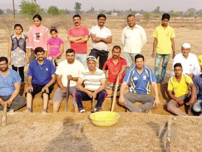 Promotion of hydropower for labor in Sinnar taluka | सिन्नर तालुक्यात श्रमदानासाठी जलमित्रांचे प्रोत्साहन