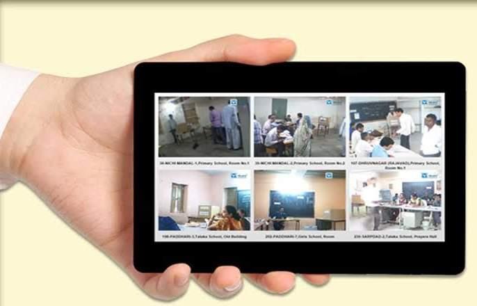 nashik,live,webcasting,of,six,polling,stations,in,the,district | जिल्ह्यातील ४५६ मतदान केंद्रांचे 'लाईव्ह वेबकास्टींग'