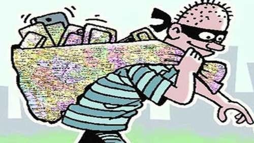 2 mobiles of two lakhs seized | दोन लाखांचे १३ मोबाइल हस्तगत