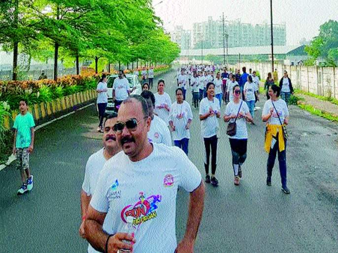 Components run for public awareness | अवयवदान जनजागृतीसाठी धाव