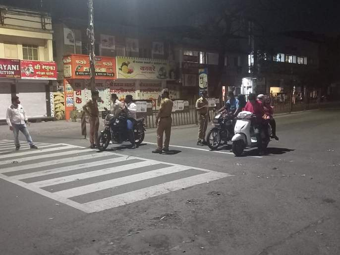 Entrance ban in Kolhapur district from tonight, entry ban in the taluka | CoronaVirus Kolhapur updates : जिल्ह्यात आज रात्रीपासूनच प्रवेशबंदी, एक किलोमीटर अंतराबाहेर कारवाई