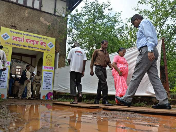 Maharashtra Election 2019: 3% voting jealous for Kolhapur | Maharashtra Election 2019 :राज्यात ५ वाजेपर्यंत सर्वाधिक मतदानकोल्हापूर जिल्ह्यात