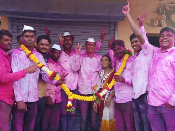 Change of power in Ankai Gram Panchayat | अनकाई ग्रामपंचायतीत सत्तापरिवर्तन