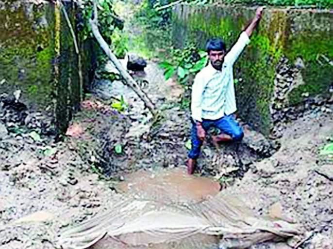 The villagers converge for canal repair | कालवा दुरुस्तीसाठी ग्रामस्थ एकवटले