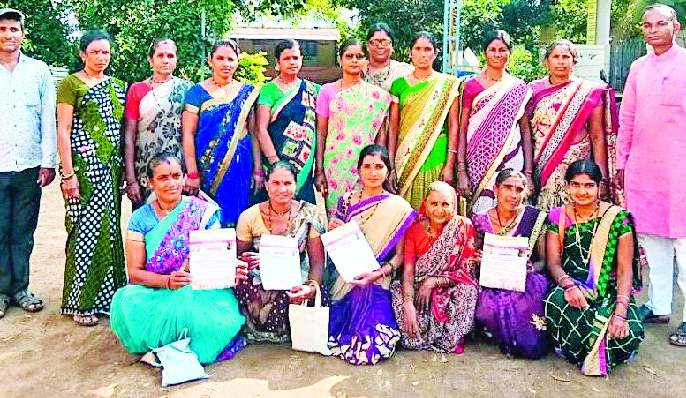 Women farmers shifted to organic farming | सेंद्रीय शेतीसाठी महिला शेतकरी सरसावल्या