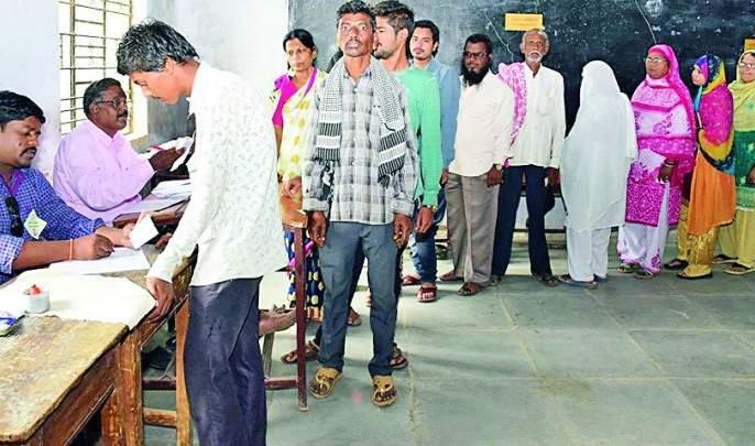 Maharashtra Election 2019 : Voters discourage in Bhandara Assembly constituency | Maharashtra Election 2019 : भंडारा विधानसभा क्षेत्रात मतदारांचा निरुत्साह