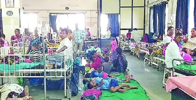 Capacity 100, Children and mothers admitted 250   क्षमता १०० ची, भरती २५० वर बालके व माता