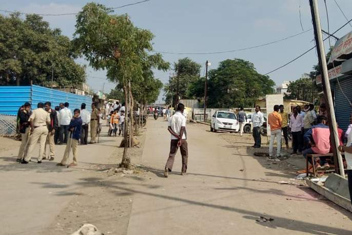 Deleted 3 transgressions in Rajur | राजूर येथील ४८ अतिक्रमणे हटविली